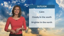 Wales weather: cloudy in the south, bright in the north