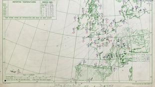 A hundred years of military weather forecasting