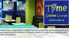 Toddler tantrums: Cafe owner says 'It's not acceptable'