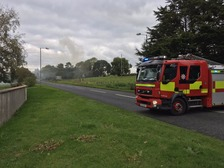 A major fire has been reported in Portadown.