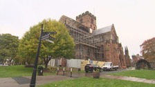 £400k repairs underway at Carlisle Cathedral
