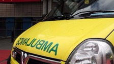 Appeal after fireworks thrown at ambulance crew in Newport