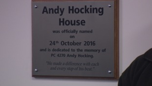 PC Andy Hocking'