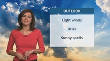 Wales weather: Mostly dry with rain in the south!