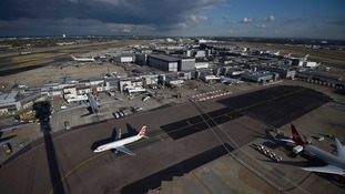 A third runway at Heathrow is expected to be chosen by the Government.