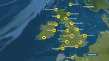 Weather: A cold start with outbreaks of rain expected