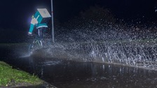 Flash flooding hits the West Country