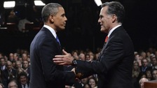 President Obama and Republican Mitt Romney have entered the final stages of political campaigning.