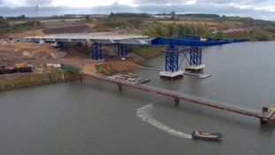 Sunderland bridge project marks halfway point