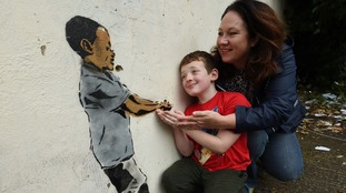 Possible Banksy artwork spotted in Birmingham