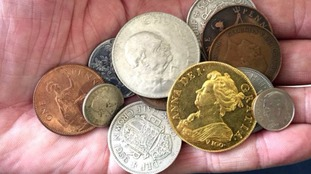 Gold coin worth £250,000 discovered in child's pirate treasure collection