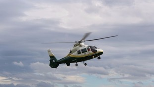 The Great North Air Ambulance was called to the crash.