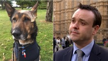 Stevenage MP throws weight behind police dog campaign