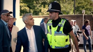 Mayor gets lifted by police in Citizen Khan sitcom