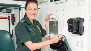 Ambulance service top for its research activity