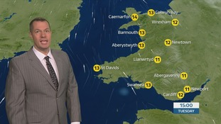 Wales weather: cloudy for most with rain for some