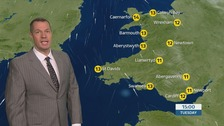 Wales weather: cloudy for most, rain for some