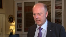 Transport Secretary Chris Grayling said a third runway at Heathrow was best for 'all the regions of the UK'.