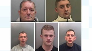 Organised drugs gang jailed for total of 19 years