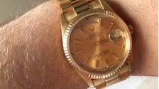 The watch (pictured) was of great sentimental value to the boy.