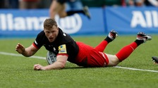 Chris Ashton is on the move.
