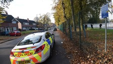 Man stabbed on busy Birmingham street