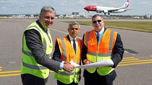 Sadiq Khan had called for Gatwick Airport to be expanded.