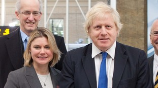 Justine Greening and Boris Johnson.