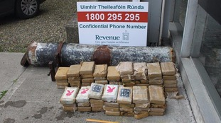 'Torpedo' filled with £4.4 million of cocaine found on Irish beach close to tourist hotspot