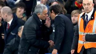 Chelsea boss Antonio Conte replies to Man United boss conversation