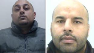 Saeed Ghani (l) and Atif Mahmood