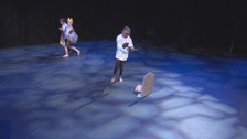 Primary school children perform Shakespeare