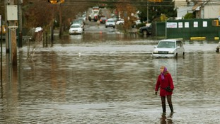 Staten Island suffered terrible floods as a result of Sandy