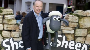 Shaun the Sheep creator Nick Park at the European premiere  of the first film