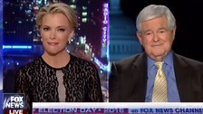 Megyn Kelly v Newt Gingrich row shows depth of Republican crisis
