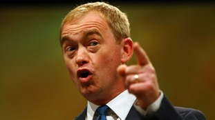 Lib Dem leader Tim Farron accused May of 'ignoring her own dire warnings'.