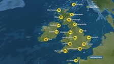 Weather: A foggy start then sunny spells