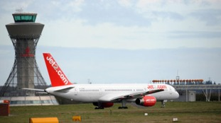 Jet 2 at Newcastle Airport