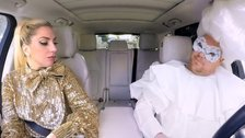 James Corden models Lady Gaga outfits in Carpool Karaoke