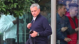 "Manchester living ""a disaster"" - Man United boss Jose Mourinho"