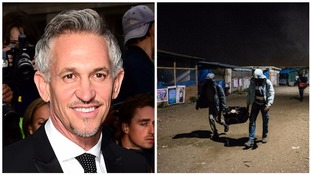 Gary Lineker to attend solidarity protest for vulnerable children in Calais