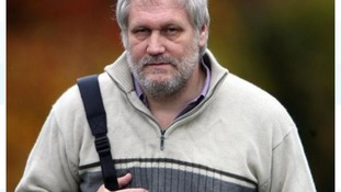 Iorworth Hoare became aggressive after police arrived at his house following an allegation of flashing