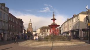 Dumfries town centre.