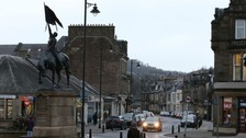 Hawick town centre.