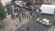 Cheapside cordoned off