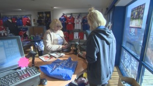 Business is booming at the club store.