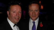 Rob with David Cameron