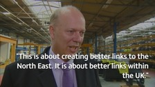 Transport Secretary: Heathrow expansion will boost NE economy