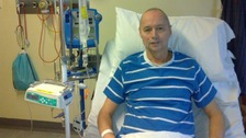 Steve Evans recovering in hospital