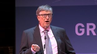 Bill Gates announces the launch of the Coalition for Epidemic Preparedness Innovations.